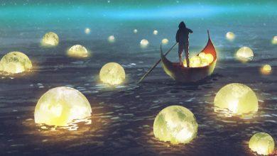 صورة تفسير حلم ظهور القمر في المنام
